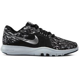 Nike W NIKE FLEX TRAINER 8 PRINT BL/METALLIC SILVER