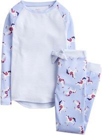 Tom Joule Pyjama, Sky Blue Dancing Unicorns 6 Vuotta