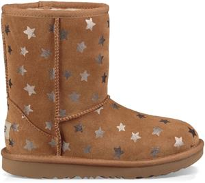 UGG Classic Short II Stars Kids Boots Saappaat, Chestnut 33