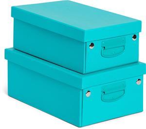 POPP Kokoontaitettavat Säilytyslaatikot, Sininen