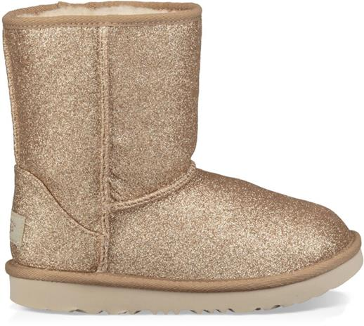 UGG Classic Short II Glitter Toddler Boots Saappaat, Gold 25
