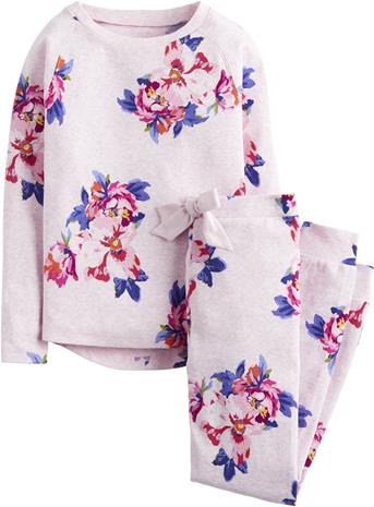 Tom Joule Pyjama, Pink Marl Granny Floral 3 Vuotta