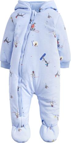 Tom Joule Wadded Jumpsuit, Sky Blue Ski Pup 1 kk