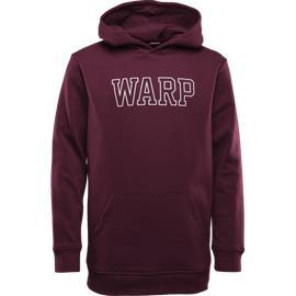 Warp J XMAS LONG HOOD WINE RED