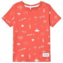 Farol T-shirt Spiced Coral86 cm (1-1,5 v)