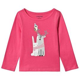 Pink Winter Friends Long Sleeve Tee18-24 months