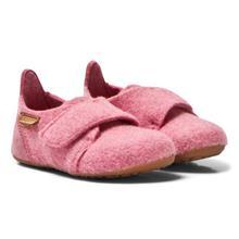 Wool Velcro Sisäkenkä Vaaleanpunainen25 EU