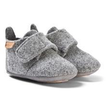 Home Shoe - Wool Star Grey24 EU