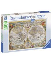 Ravensburger Historiallinen maailmankartta 1500p Palapeli