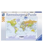 Ravensburger Maailmankartta 500p Palapeli