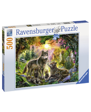 Ravensburger Wolf Family In The Sunshine 500p Palapeli