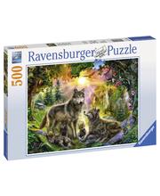 Ravensburger Wolf Family In The Sunshine 500p Palapeli