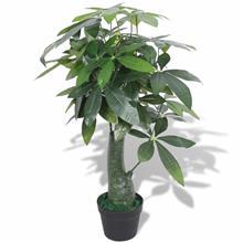 vidaXL Tekokasvi ruukulla kastanjasutipuu 85 cm vihreä