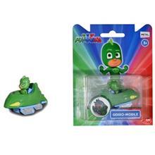 Pyjamashjältarna Gecko figur med Gekko-Mobile