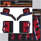 Fox Racing Shox Decal 2016 AM , punainen/sininen