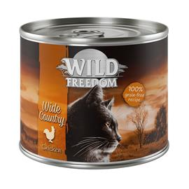 Wild Freedom Adult -säästöpakkaus 24 x 200 g - Wide Country - kana