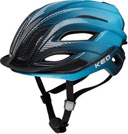 KED Champion Visor Pyöräilykypärä , sininen/musta