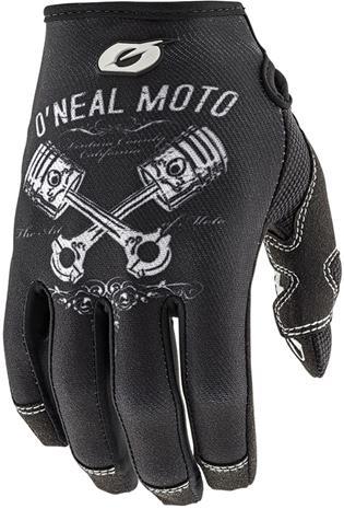 ONeal Mayhem II Pyöräilyhanskat Pistons , valkoinen/musta