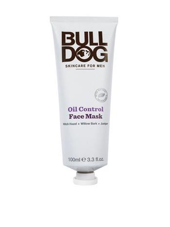 Bulldog Bulldog Oil Control Face Mask Kasvojenhoito Valkoinen