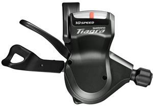 Shimano Tiagra vaihdekahva Flat-ohjaustankoihin SL-4700/4703 oikea 10-vaihteinen Puristin , musta