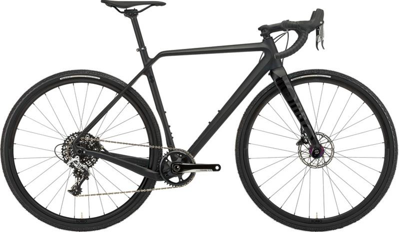 RONDO Ruut CF2 Carbon cyclocross-pyörä , musta