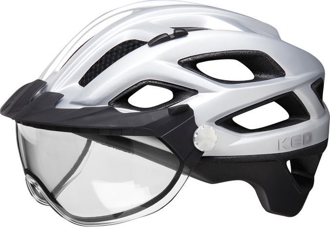 KED Covis Lite Pyöräilykypärä , musta/hopea