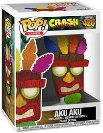 Crash Bandicoot Aku Aku VInyl Figure 420 (figuuri) Keräilyfiguuri Standard