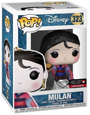 Mulan Mulan (Diamond Collection- Glitter) - Vinyl Figure 323 (figuuri) Keräilyfiguuri Standard