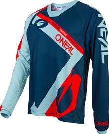 ONeal Element FR Miehet Pyöräilypaita lyhythihainen , punainen/sininen