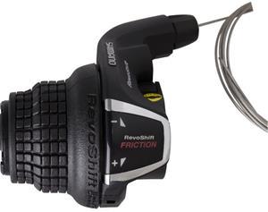 Shimano Tourney SL-RS35 vaihdekahva Vasen 3-vaihteinen Puristin sis. liu'un , musta