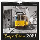 Ajasto Seinäkalenteri Carpe Diem 2019