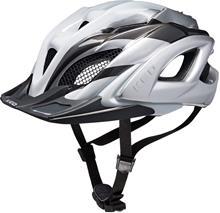 KED Neo Visor Pyöräilykypärä , valkoinen/hopea