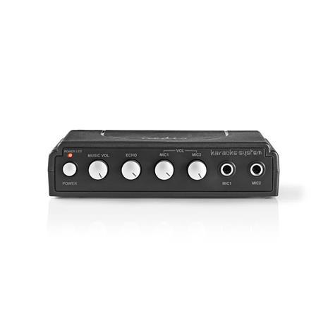 Nedis MIXK050BK, karaokesetti, sis. 2 mikrofonia