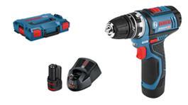Bosch GSR 12V-15 FC Professional L-BOXX (06019F6001), akkuporakone/-ruuvinväännin
