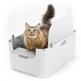Modkat Tray -kissanvessa - valkoinen