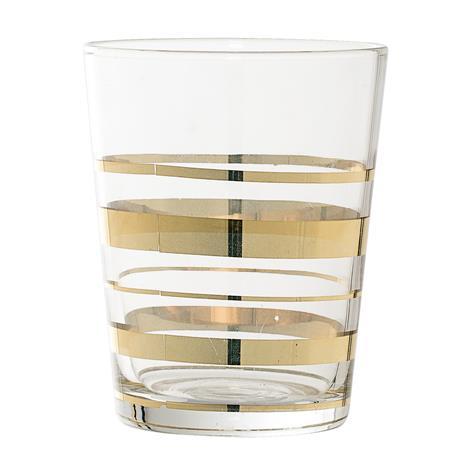 Lasi Kultaraita 8x10 cm, DrinkingGlass