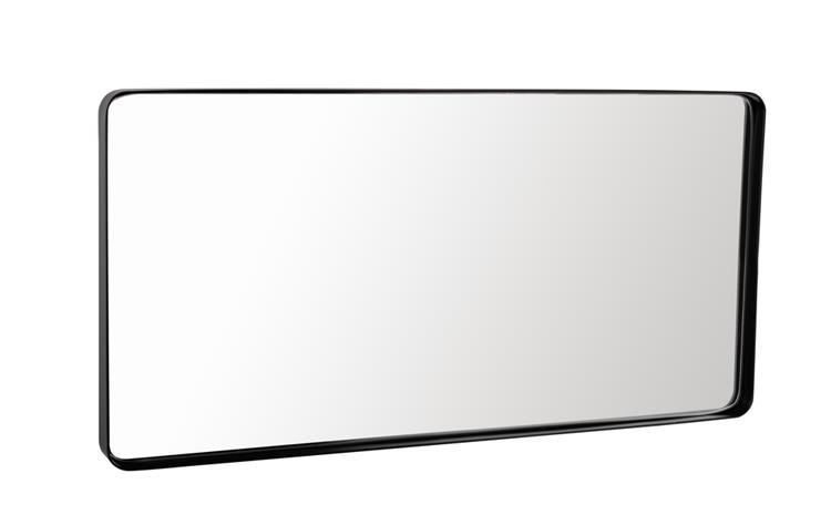 Väggspegel 2 olika upphängningar 30x60 cm, Koristeet