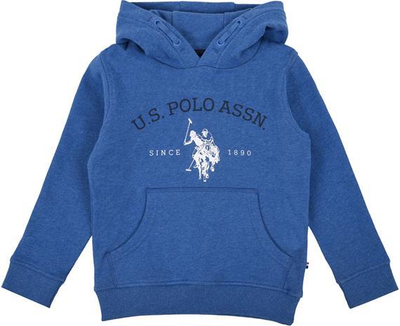 US Polo Assn. USPA OTH Hoodie Huppari, Delft Marl 4-5 Vuotta