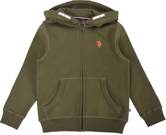 US Polo Assn. Core Huppari, Light Olive 8-9 Vuotta
