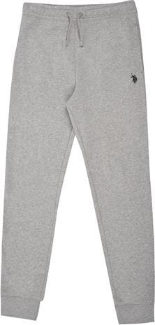 US Polo Assn. Core Housut, Vintage Grey Heather 3-4 Vuotta