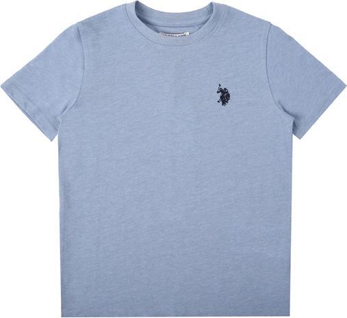 US Polo Assn. Core Jersey T-Paita, Mid Blue Marl 7-8 Vuotta