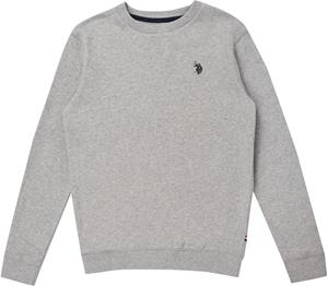 US Polo Assn. Core Crew Paita, Vintage Grey Heather 6-7 Vuotta