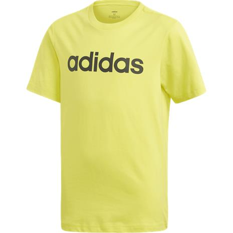 Adidas J YB E LIN TEE YELLOW/BLACK