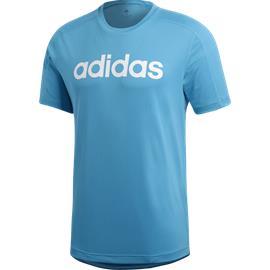 Adidas M D2M COOL LOGO T SHOCK CYAN