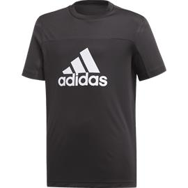 Adidas J YB TR EQ TEE BLACK/WHITE