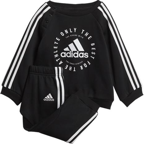 Adidas K I 3S JOGG SET BLACK/WHITE