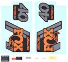 Fox Racing Shox Decal Kit 2018 40 F-S , oranssi/musta