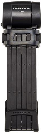 Trelock FS 460 COPS L Pyörälukko 100 cm , musta