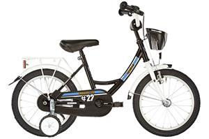 """Vermont City Police Lapset lasten polkupyörä 16"""""""" , valkoinen/musta"""