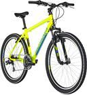 Serious Rockville etujousitettu maastopyörä , keltainen/vihreä